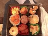 Breakfast! Vegan food at Hakata Station. #Blessed #Holy #Not7/11